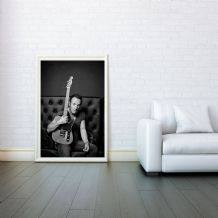 Bruce Springsteen, Mosaic, Decorative Arts, Prints & Posters,Wall Art Print, Poster Any Size - Black and White Poster